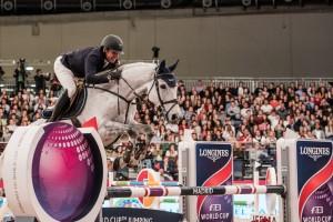 Julio Arias ESP riding Lennox louis Photo FEI/Lukasz Kowalski